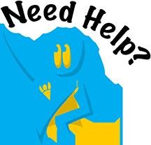 Help Superhero drawing. Heading says Need Help?