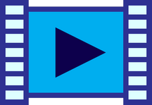 Video player play button